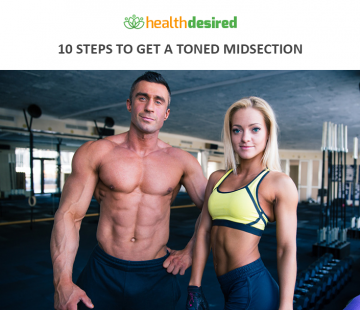 how to get a toned midsection